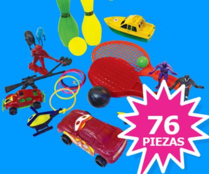 Paquete juguetes piñata