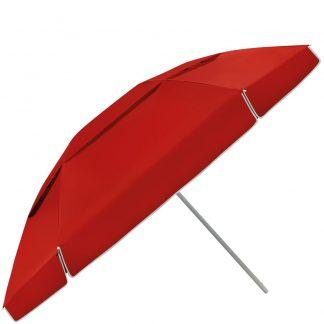 sombrilla playera 300 rojo